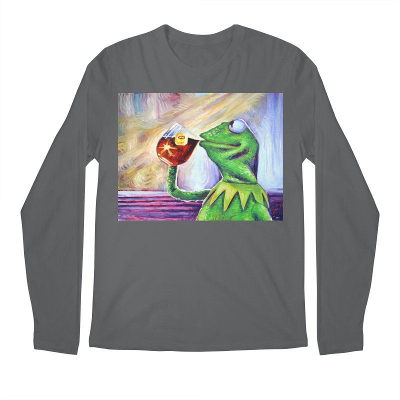 """tea Men's Longsleeve T-Shirt by Art Prints by Seamus Wray available under """"Home"""""""
