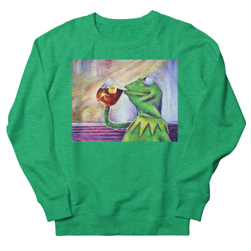 """tea Women's Sweatshirt by Art Prints by Seamus Wray available under """"Home"""""""