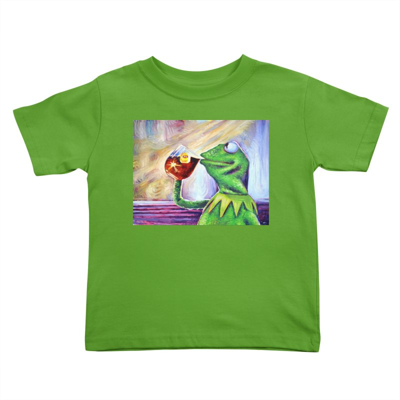 """tea Kids Toddler T-Shirt by Art Prints by Seamus Wray available under """"Home"""""""