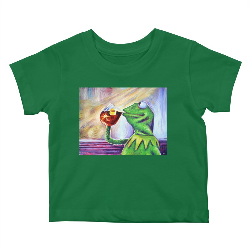 """tea Kids Baby T-Shirt by Art Prints by Seamus Wray available under """"Home"""""""