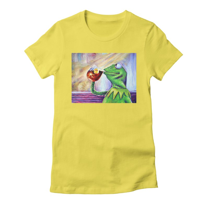 """tea Women's T-Shirt by Art Prints by Seamus Wray available under """"Home"""""""