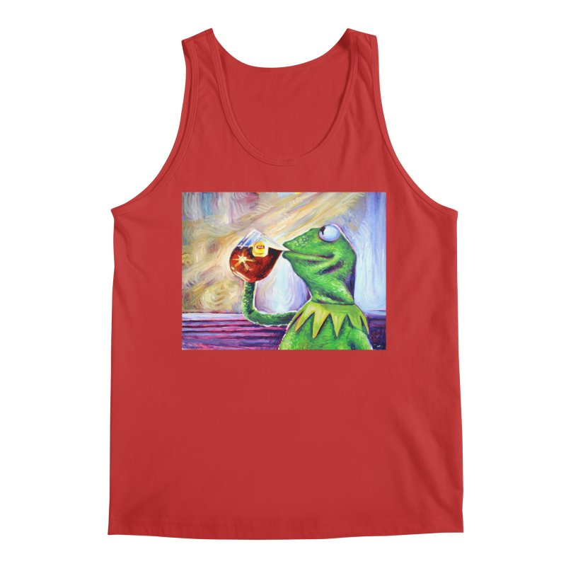 """tea Men's Tank by Art Prints by Seamus Wray available under """"Home"""""""