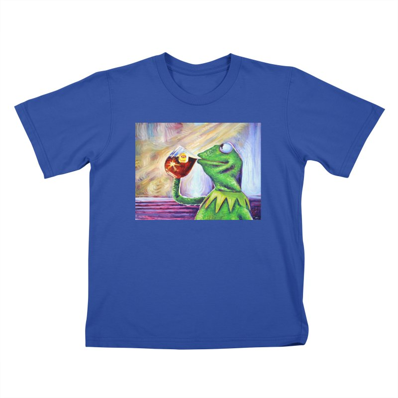 """tea Kids T-Shirt by Art Prints by Seamus Wray available under """"Home"""""""