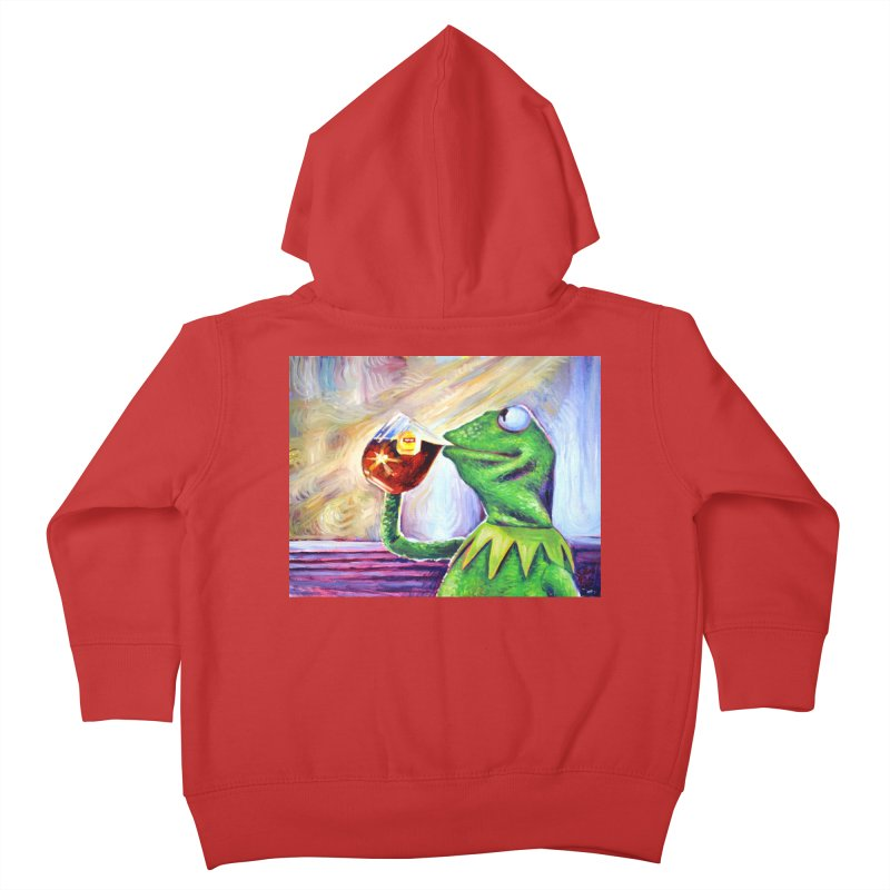 """tea Kids Toddler Zip-Up Hoody by Art Prints by Seamus Wray available under """"Home"""""""
