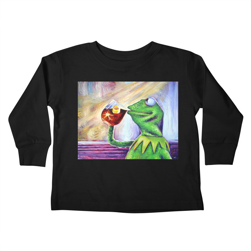 """tea Kids Toddler Longsleeve T-Shirt by Art Prints by Seamus Wray available under """"Home"""""""