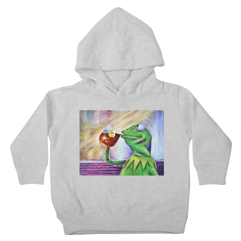 """tea Kids Toddler Pullover Hoody by Art Prints by Seamus Wray available under """"Home"""""""