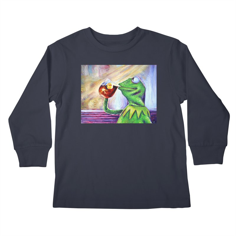"""tea Kids Longsleeve T-Shirt by Art Prints by Seamus Wray available under """"Home"""""""