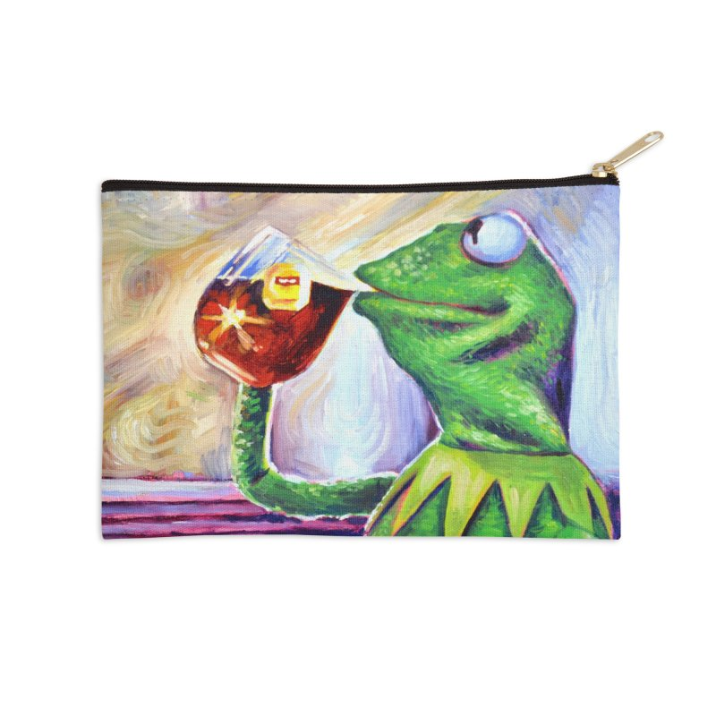 """tea Accessories Zip Pouch by Art Prints by Seamus Wray available under """"Home"""""""
