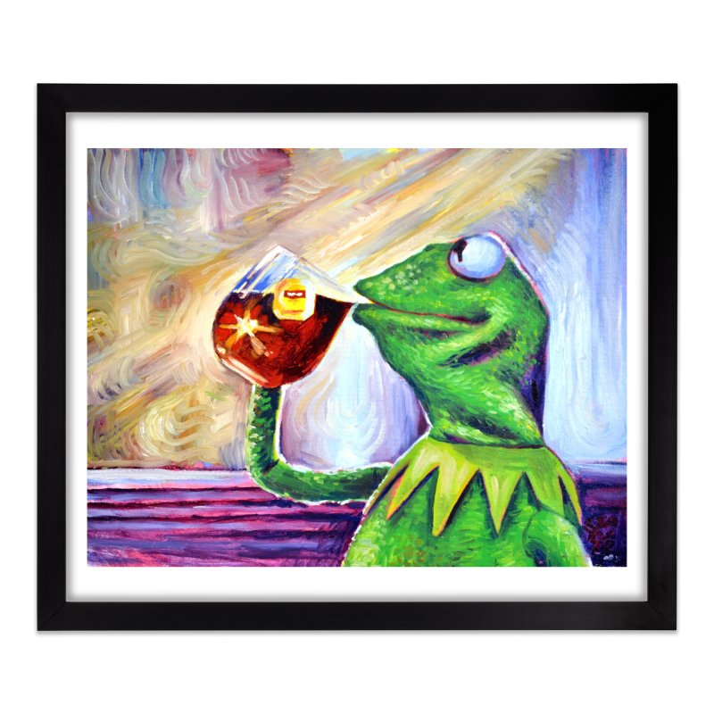 """tea Home Framed Fine Art Print by Art Prints by Seamus Wray available under """"Home"""""""