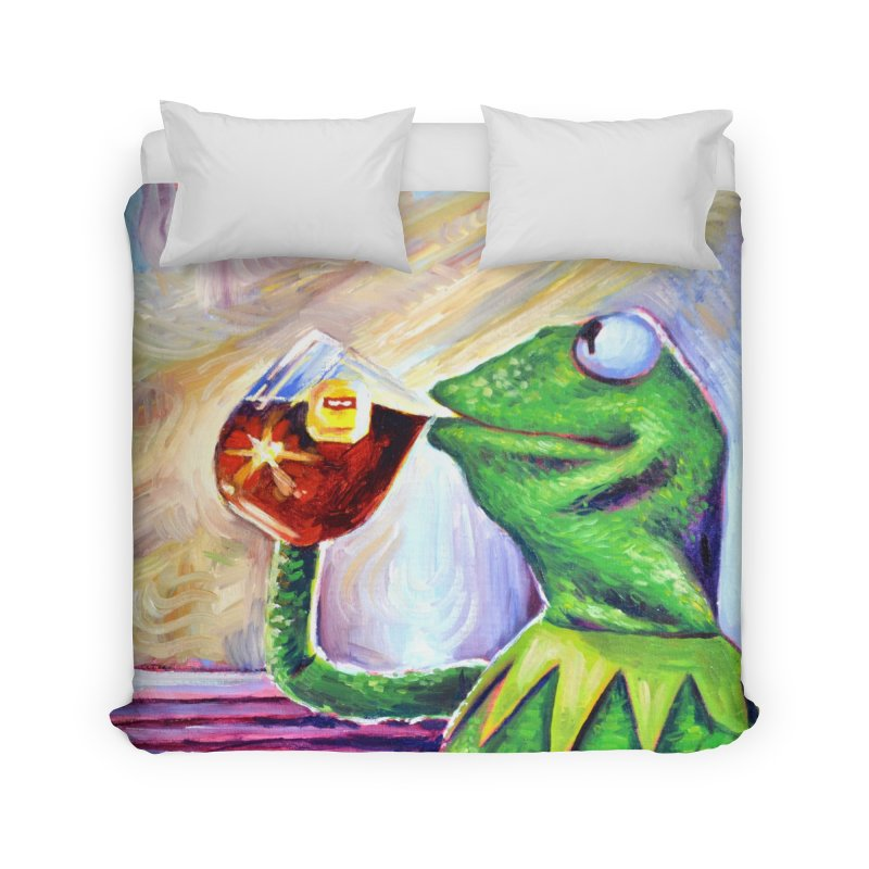 """tea Home Duvet by Art Prints by Seamus Wray available under """"Home"""""""