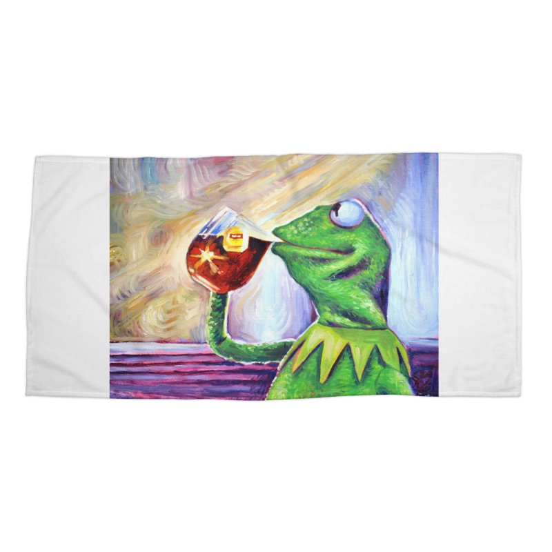 """tea Accessories Beach Towel by Art Prints by Seamus Wray available under """"Home"""""""