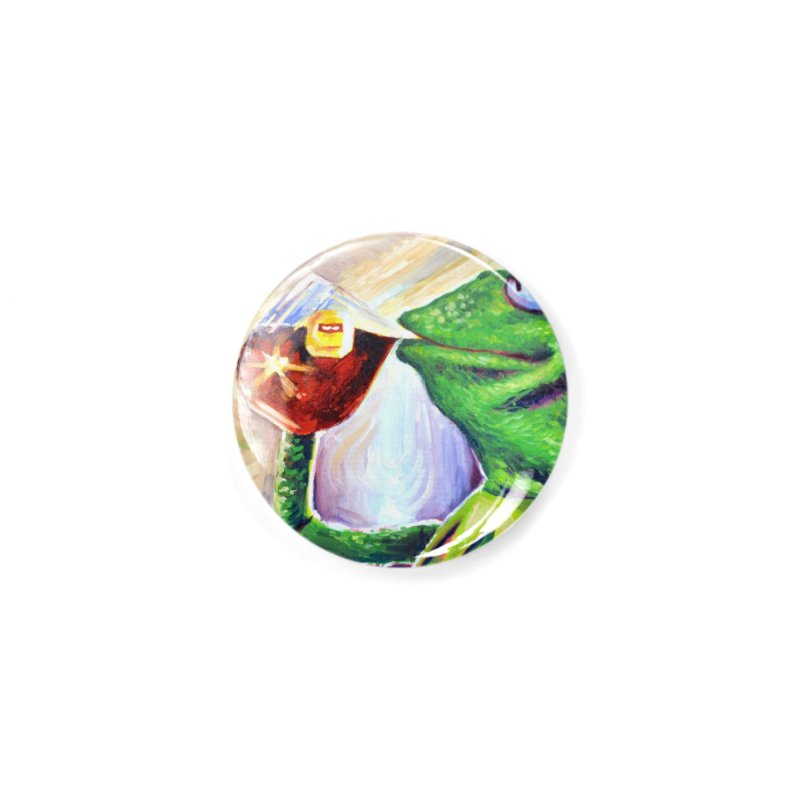 """tea Accessories Button by Art Prints by Seamus Wray available under """"Home"""""""
