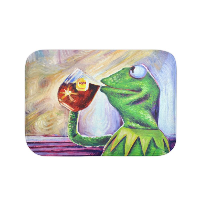 """tea Home Bath Mat by Art Prints by Seamus Wray available under """"Home"""""""