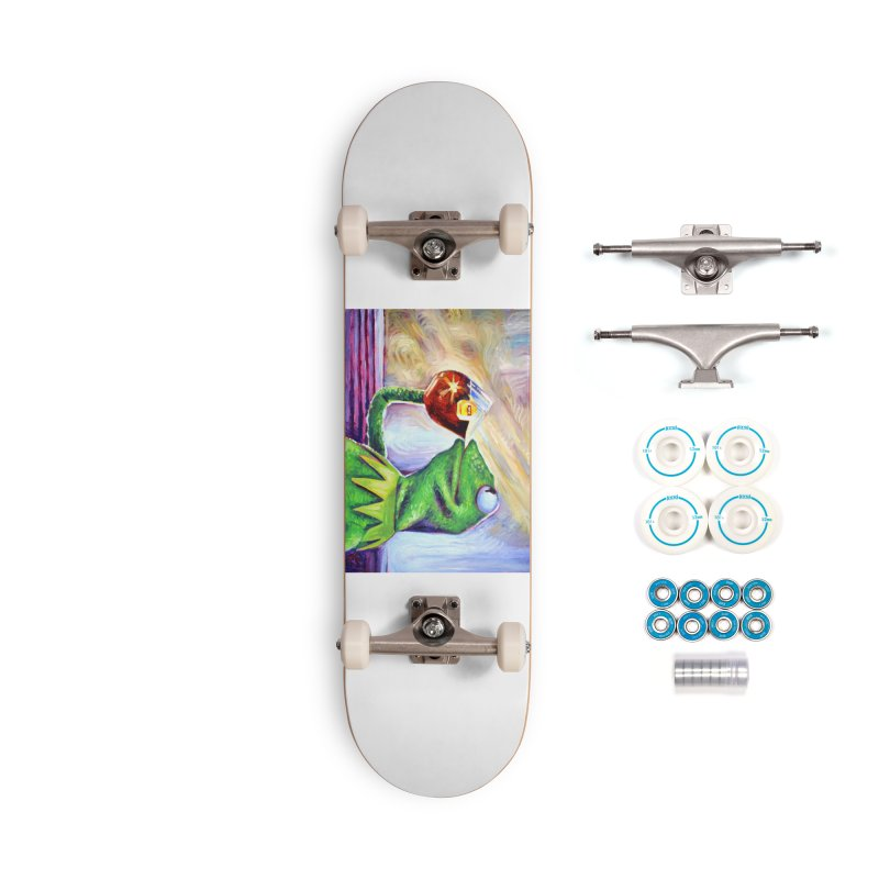 """tea Accessories Skateboard by Art Prints by Seamus Wray available under """"Home"""""""