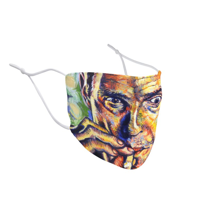 """smokin Accessories Face Mask by Art Prints by Seamus Wray available under """"Home"""""""