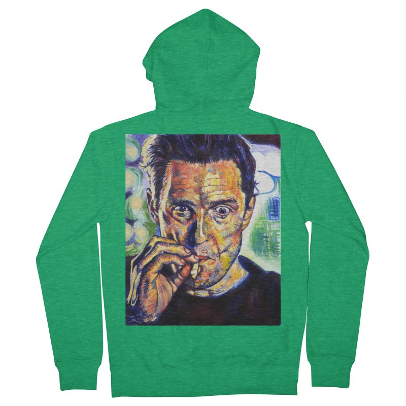 """smokin Men's Zip-Up Hoody by Art Prints by Seamus Wray available under """"Home"""""""