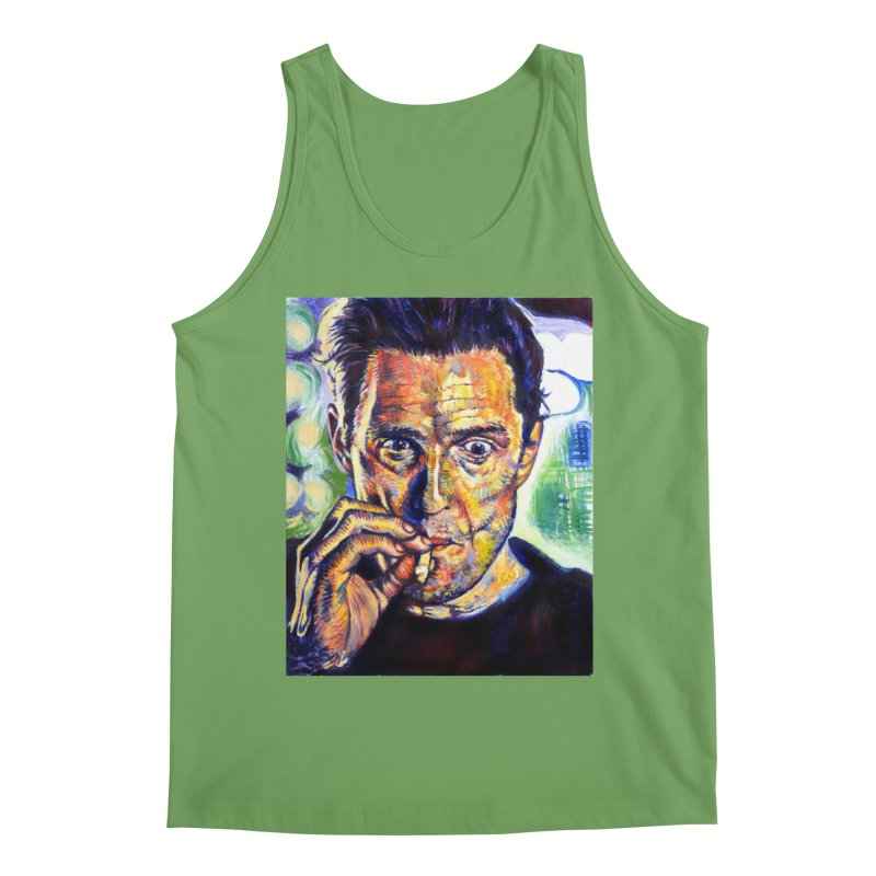 """smokin Men's Tank by Art Prints by Seamus Wray available under """"Home"""""""