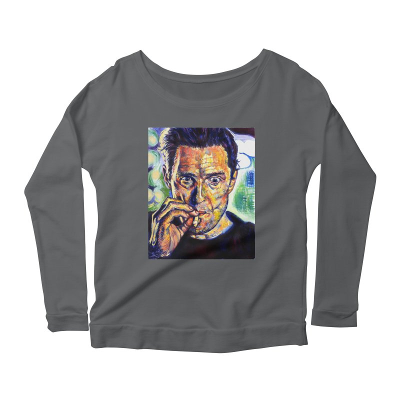 """smokin Women's Longsleeve T-Shirt by Art Prints by Seamus Wray available under """"Home"""""""