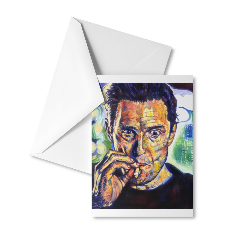"""smokin Accessories Greeting Card by Art Prints by Seamus Wray available under """"Home"""""""