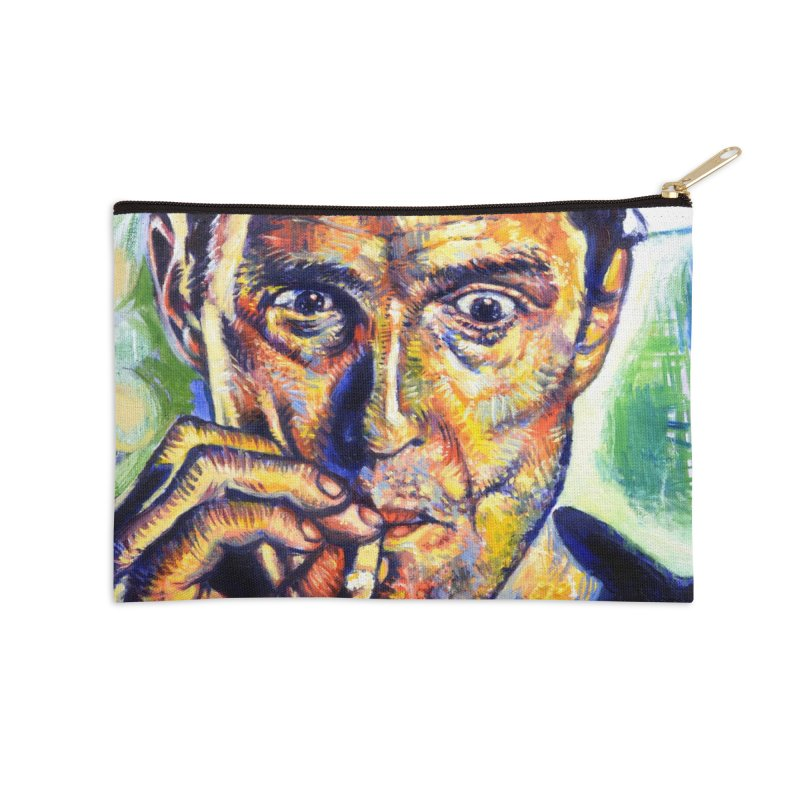 """smokin Accessories Zip Pouch by Art Prints by Seamus Wray available under """"Home"""""""