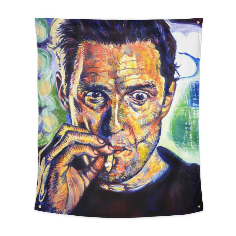 """smokin Home Tapestry by Art Prints by Seamus Wray available under """"Home"""""""