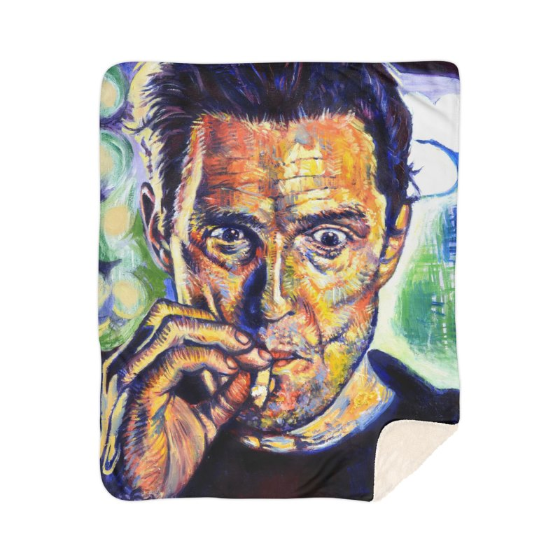 """smokin Home Blanket by Art Prints by Seamus Wray available under """"Home"""""""