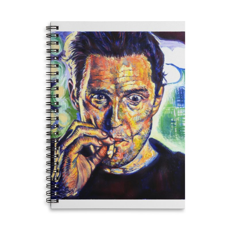 """smokin Accessories Notebook by Art Prints by Seamus Wray available under """"Home"""""""