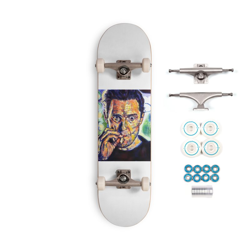 """smokin Accessories Skateboard by Art Prints by Seamus Wray available under """"Home"""""""