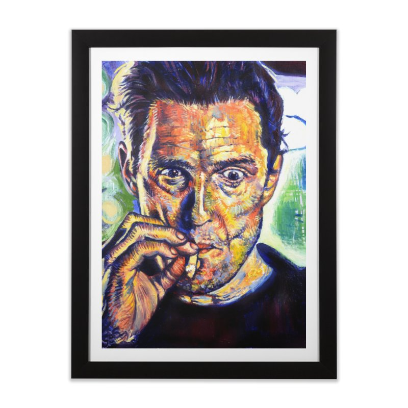 """smokin Home Framed Fine Art Print by Art Prints by Seamus Wray available under """"Home"""""""
