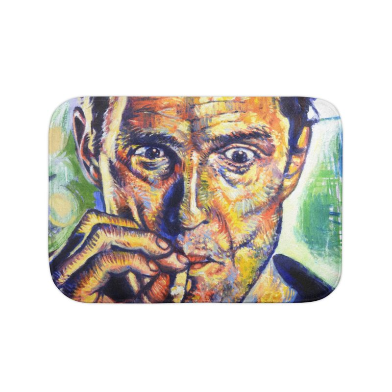 """smokin Home Bath Mat by Art Prints by Seamus Wray available under """"Home"""""""
