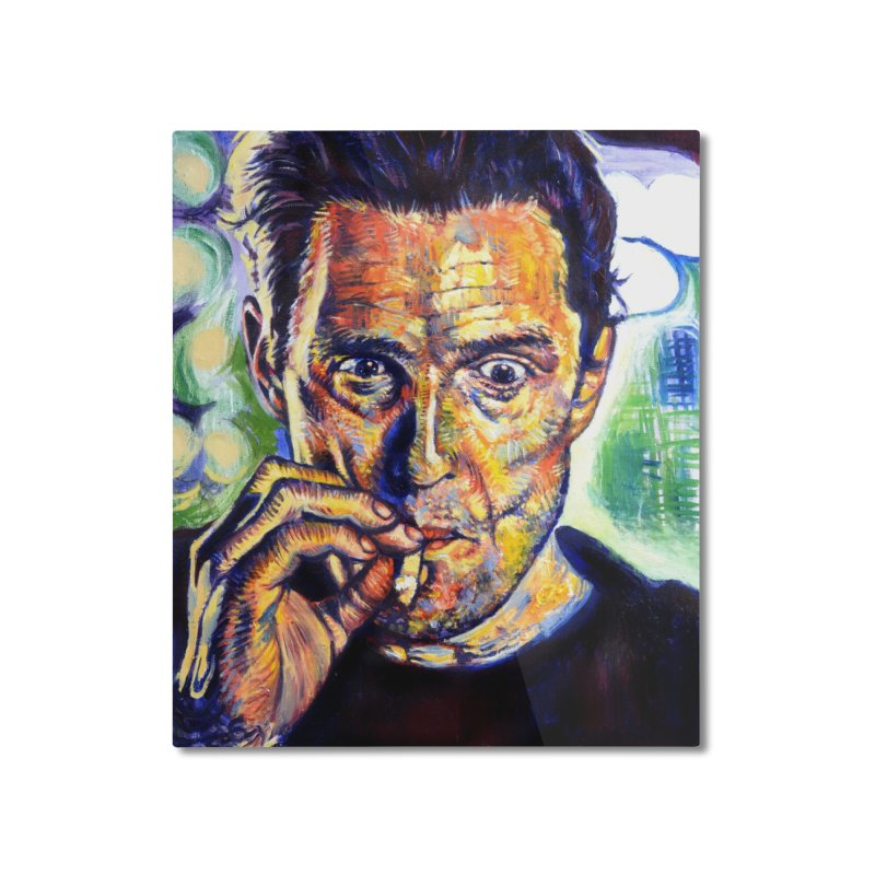 """smokin Home Mounted Aluminum Print by Art Prints by Seamus Wray available under """"Home"""""""