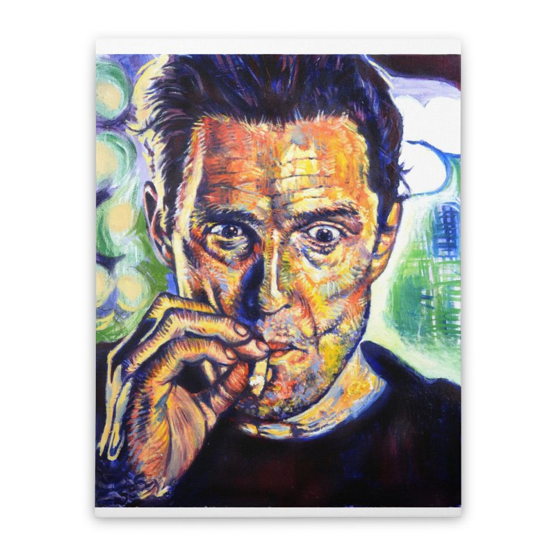 """smokin Home Stretched Canvas by Art Prints by Seamus Wray available under """"Home"""""""