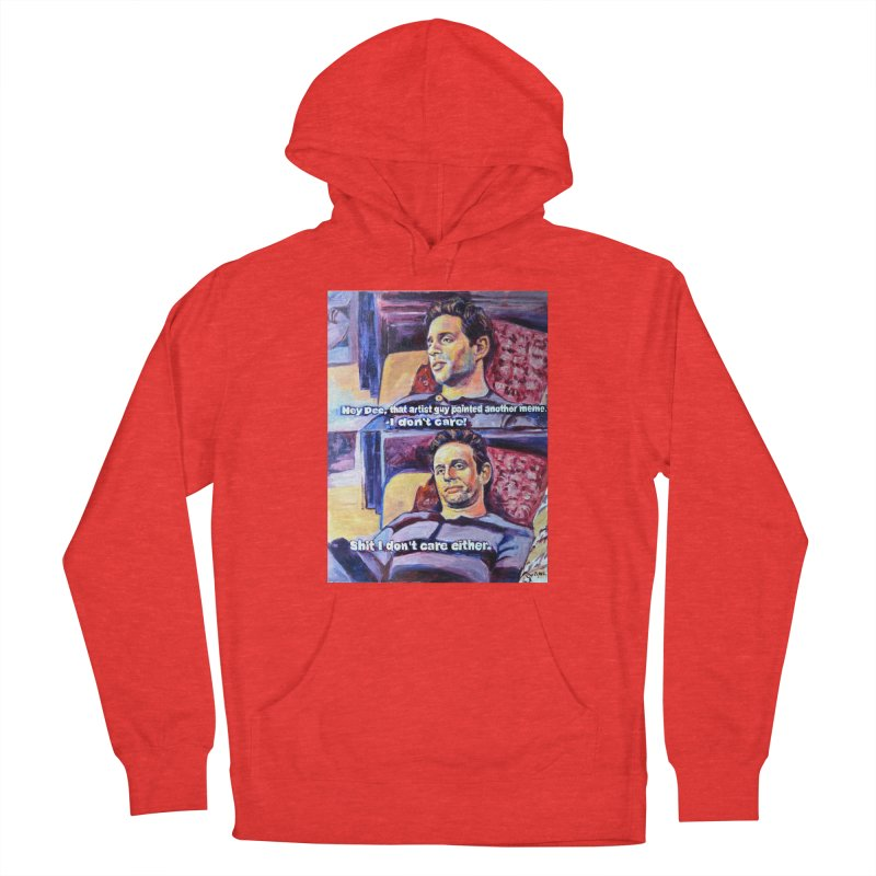 """I dont care Women's Pullover Hoody by Art Prints by Seamus Wray available under """"Home"""""""