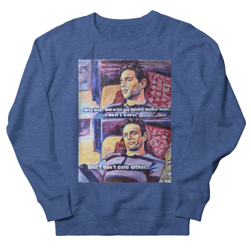 """I dont care Men's Sweatshirt by Art Prints by Seamus Wray available under """"Home"""""""