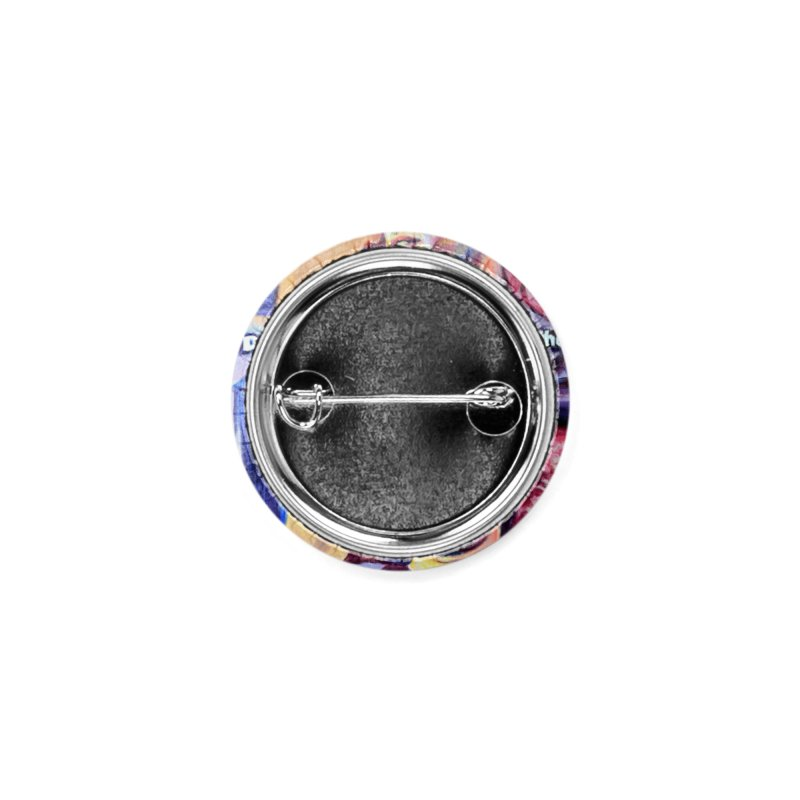 """I dont care Accessories Button by Art Prints by Seamus Wray available under """"Home"""""""