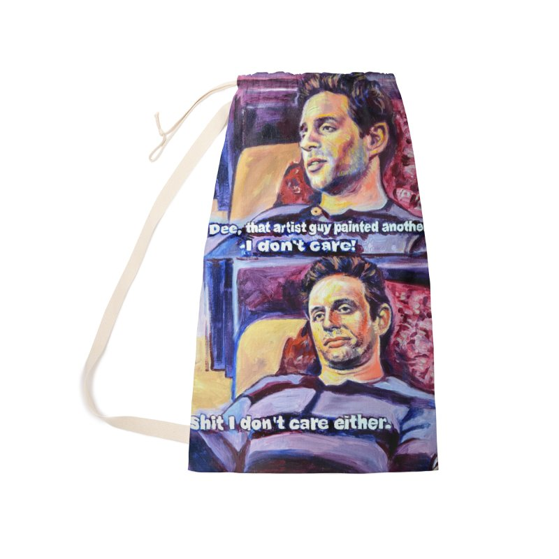 """I dont care Accessories Bag by Art Prints by Seamus Wray available under """"Home"""""""