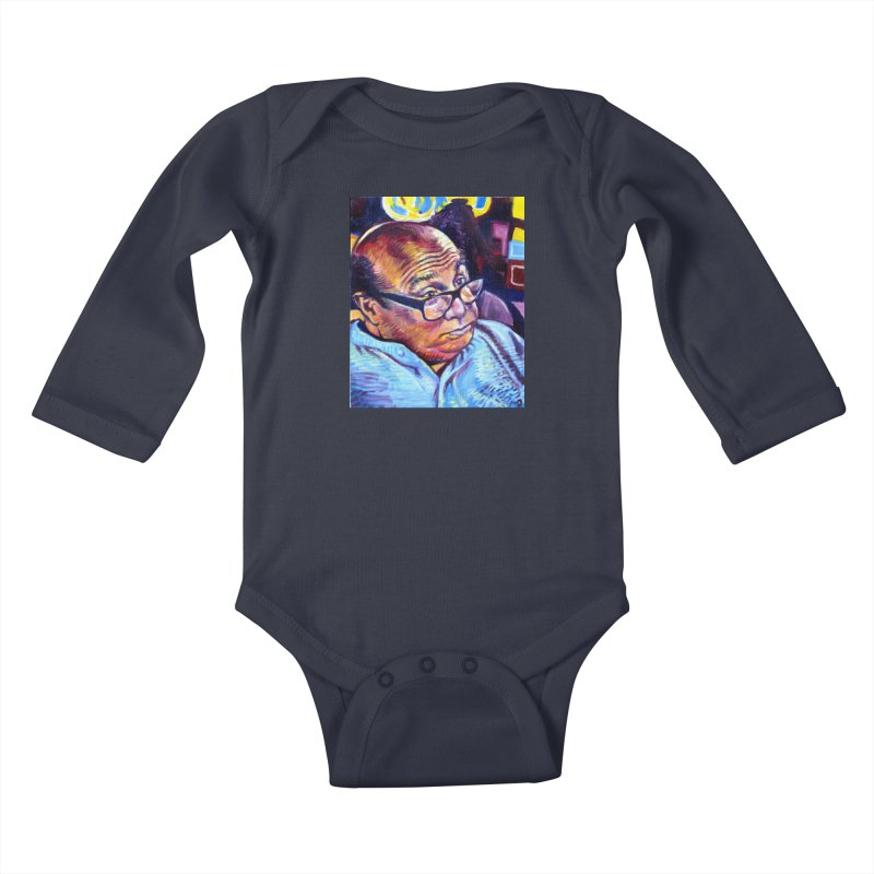"""untitled Kids Baby Longsleeve Bodysuit by Art Prints by Seamus Wray available under """"Home"""""""