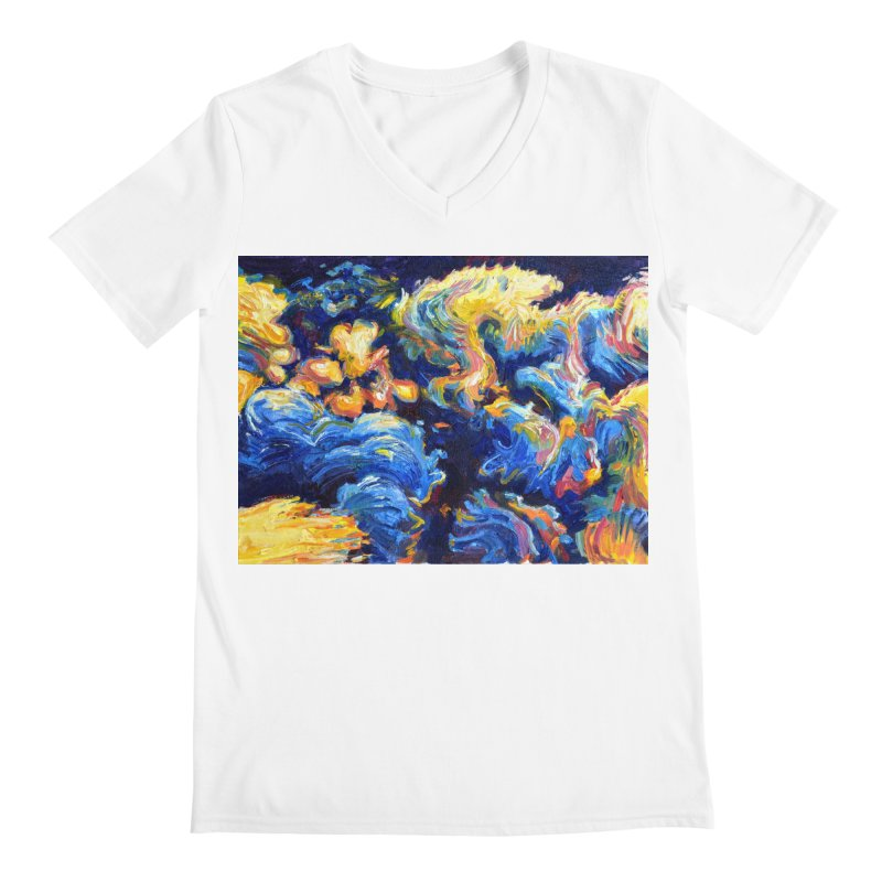 """clouds Men's V-Neck by Art Prints by Seamus Wray available under """"Home"""""""