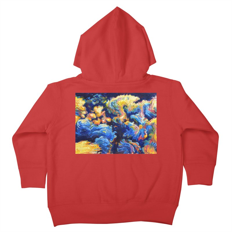 """clouds Kids Toddler Zip-Up Hoody by Art Prints by Seamus Wray available under """"Home"""""""