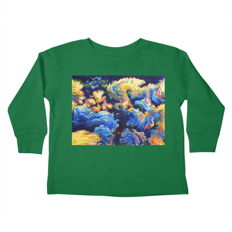 """clouds Kids Toddler Longsleeve T-Shirt by Art Prints by Seamus Wray available under """"Home"""""""