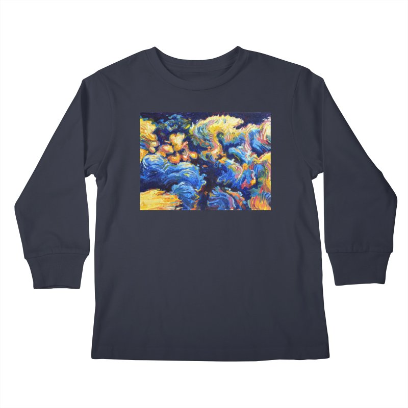 """clouds Kids Longsleeve T-Shirt by Art Prints by Seamus Wray available under """"Home"""""""