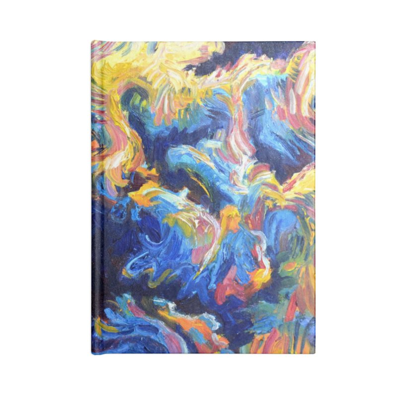 """clouds Accessories Notebook by Art Prints by Seamus Wray available under """"Home"""""""