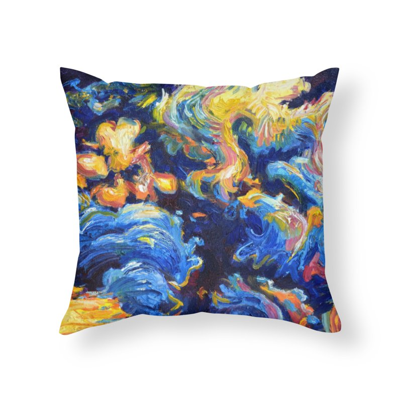 """clouds Home Throw Pillow by Art Prints by Seamus Wray available under """"Home"""""""