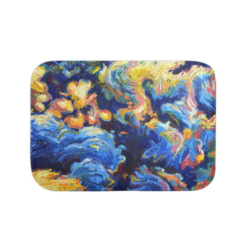 """clouds Home Bath Mat by Art Prints by Seamus Wray available under """"Home"""""""