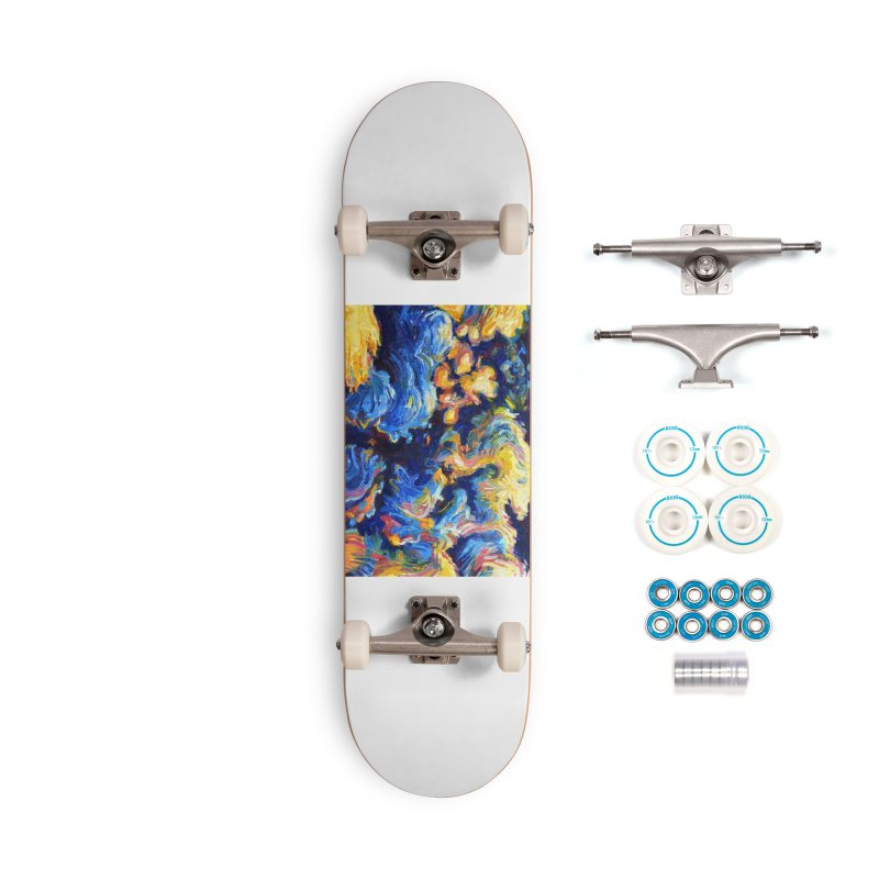 """clouds Accessories Skateboard by Art Prints by Seamus Wray available under """"Home"""""""