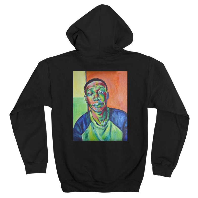 """khaby Men's Zip-Up Hoody by Art Prints by Seamus Wray available under """"Home"""""""