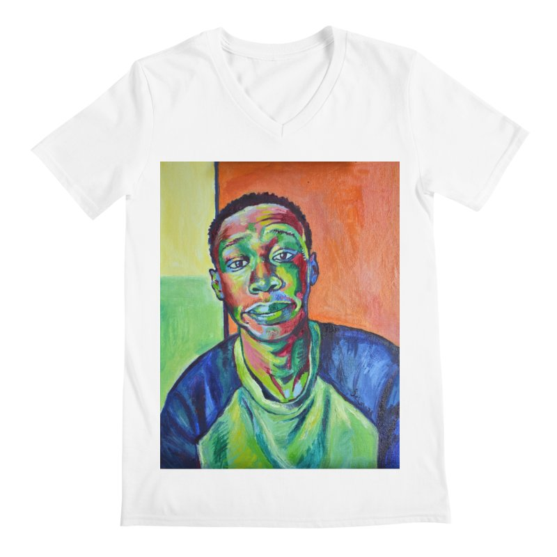 """khaby Men's V-Neck by Art Prints by Seamus Wray available under """"Home"""""""