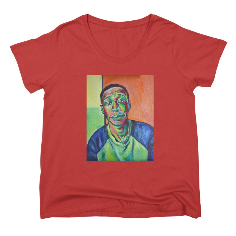 """khaby Women's Scoop Neck by Art Prints by Seamus Wray available under """"Home"""""""