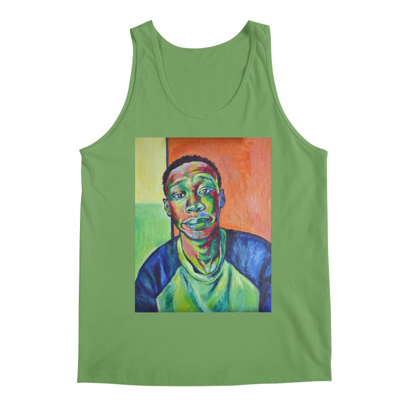 """khaby Men's Tank by Art Prints by Seamus Wray available under """"Home"""""""