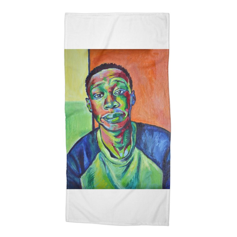 """khaby Accessories Beach Towel by Art Prints by Seamus Wray available under """"Home"""""""